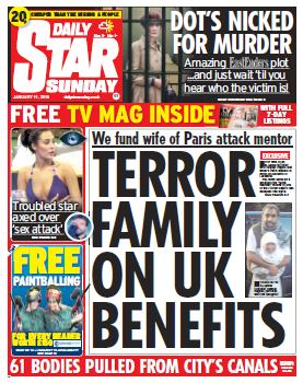 DAILY STAR SUNDAY - 11 January 2015 free download