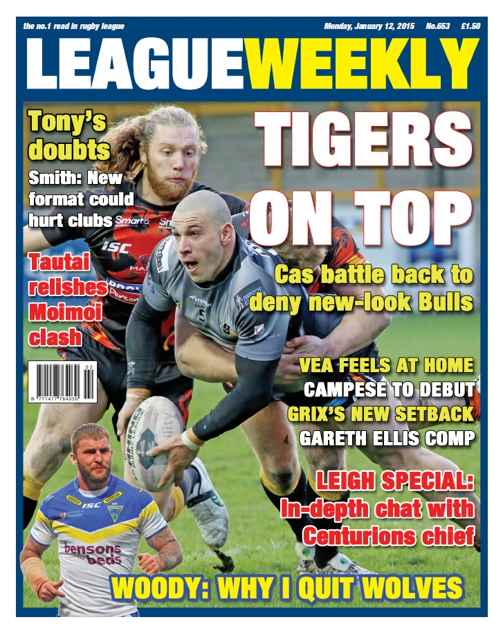 League Weekly - 12 January 2015 free download