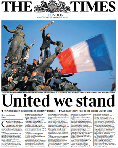 The London Times January 12 2015 free download