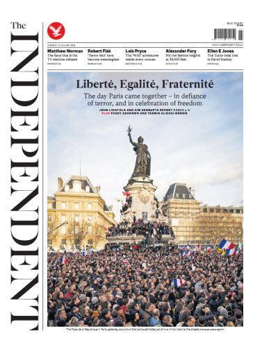 The Independent January 12 2015 free download