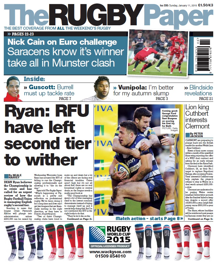 The Rugby Paper - 11 January 2015 free download