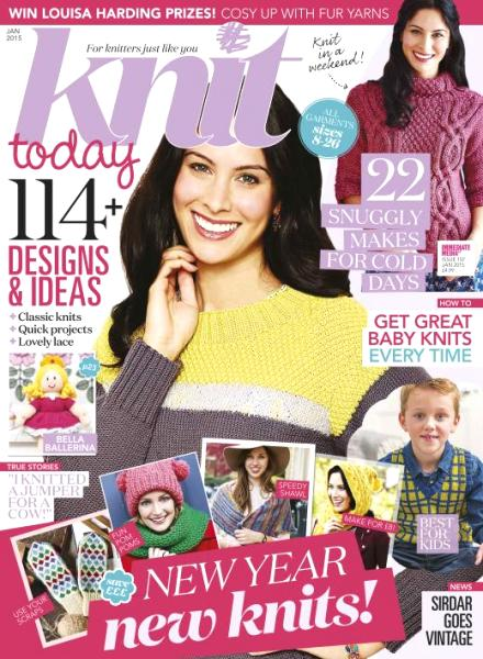 Knit Today - January 2015 free download