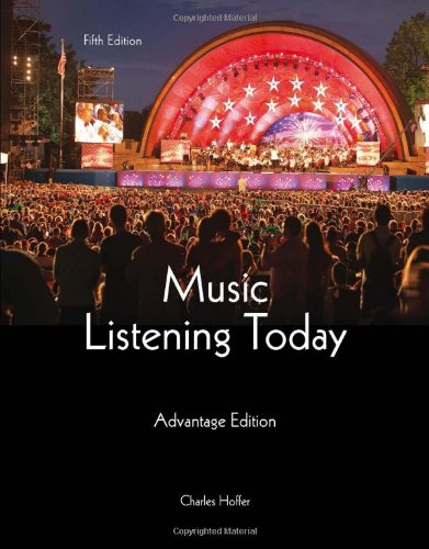 Music Listening Today, Advantage Edition, 5th Edition free download