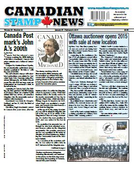 Canadian Stamp News - 27 February 2015 free download