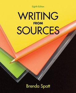 Writing from Sources, Eighth Edition free download