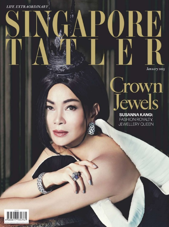 Singapore Tatler - January 2015 free download