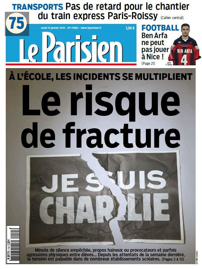 Le parisien journal de paris du jeudi 15 janvier 2015 free ebooks download - Logo le journal du jeudi ...