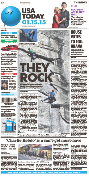 USA Today 15 January 2015 free download