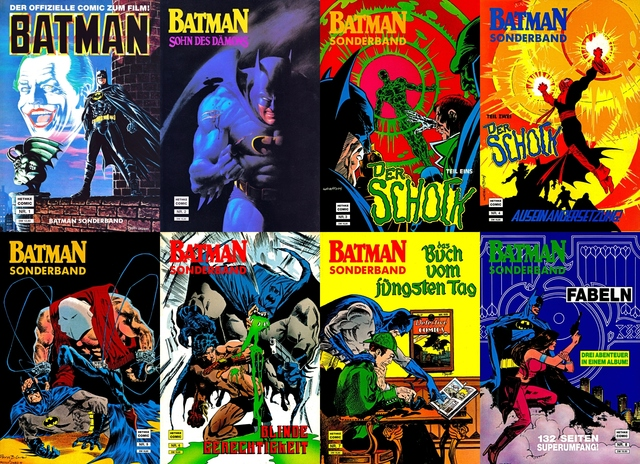 Batman Sonderband #1-29 free download