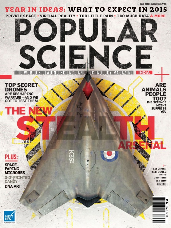 Popular Science India - January 2015 free download