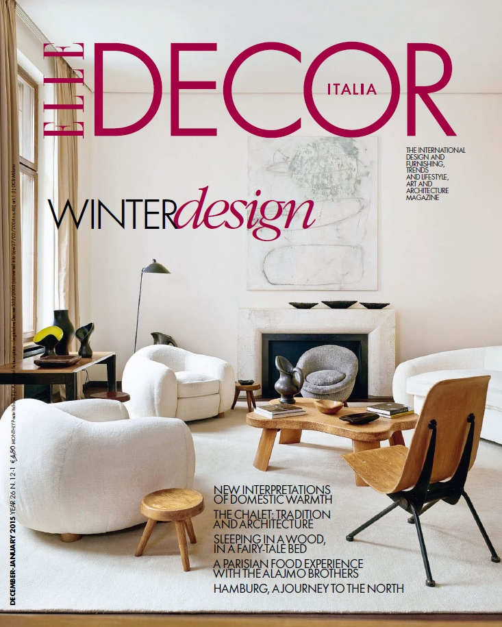 Elle Decor Italia - December 2014 - January 2015 free download