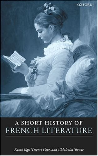 A Short History of French Literature free download