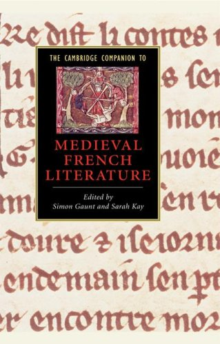 The Cambridge Companion to Medieval French Literature free download