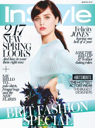 InStyle UK - March 2015 free download