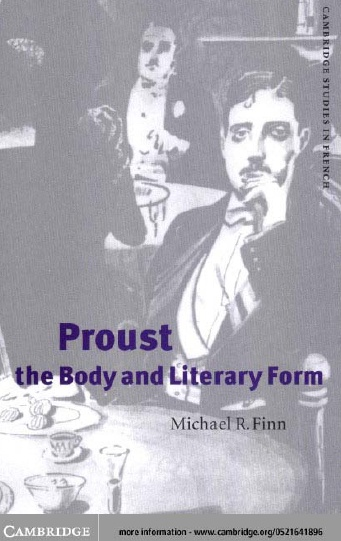 Proust, the Body and Literary Form (Cambridge Studies in French) free download