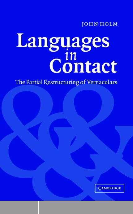 Languages in Contact: The Partial Restructuring of Vernaculars free download
