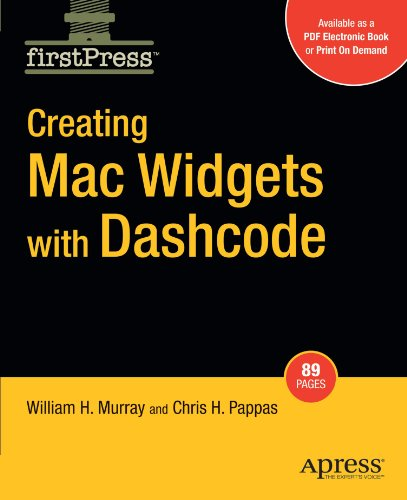 Creating Mac Widgets with Dashcode free download