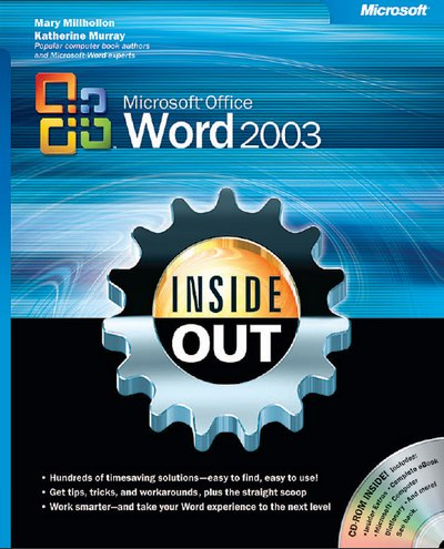 Microsoft Office Word 2003 Inside Out (Bpg-Inside Out) by Katherine Murray free download