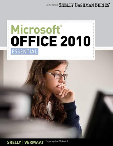Microsoft Office 2010: Essential (Available Titles Skills Assessment Manager (SAM) - Office 2010) free download