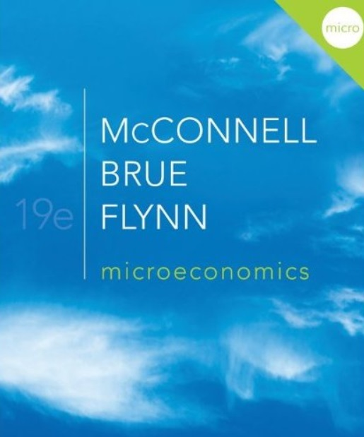 Microeconomics, 19th edition free download