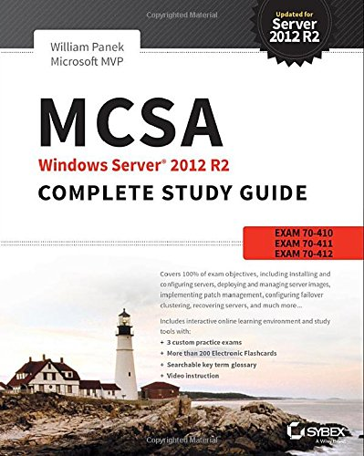MCSA Windows Server 2012 R2 Complete Study Guide: Exams 70-410, 70-411, 70-412, and 70-417 free download