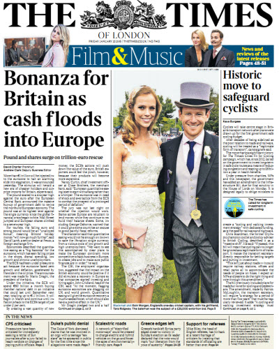 The London Times January 23 2015 free download