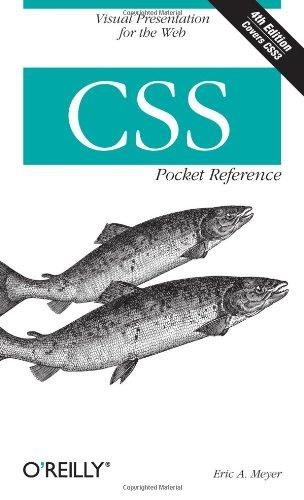 CSS Pocket Reference (4th edition) free download