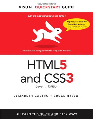 HTML5 and CSS3 Visual QuickStart Guide (7th Edition) free download