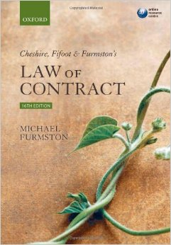 Cheshire, Fifoot and Furmston's Law of Contract (16 edition) free download