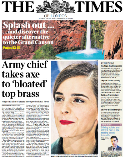 The London Times January 24 2015 free download