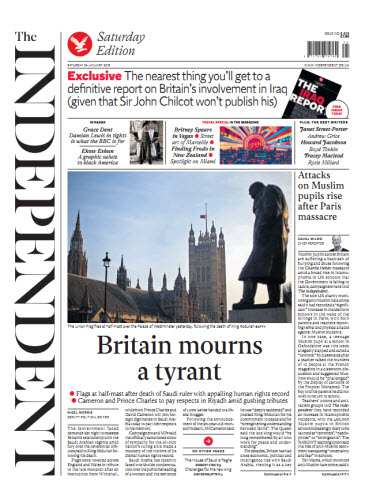 The Independent January 24 2015 free download
