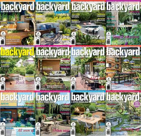 Backyard & Garden Design Ideas Magazine 2013-2014 Full Collection free download
