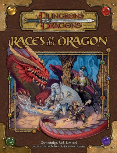 Races of the Dragon (Dungeons & Dragons d20 3.5 Fantasy Roleplaying Supplement) free download