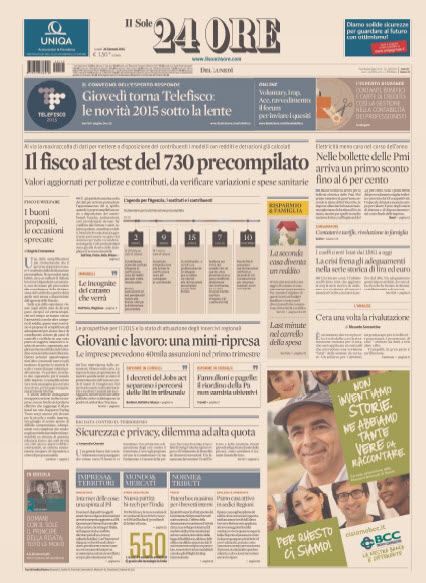Il Sole 24 Ore - 26.01.2015 free download