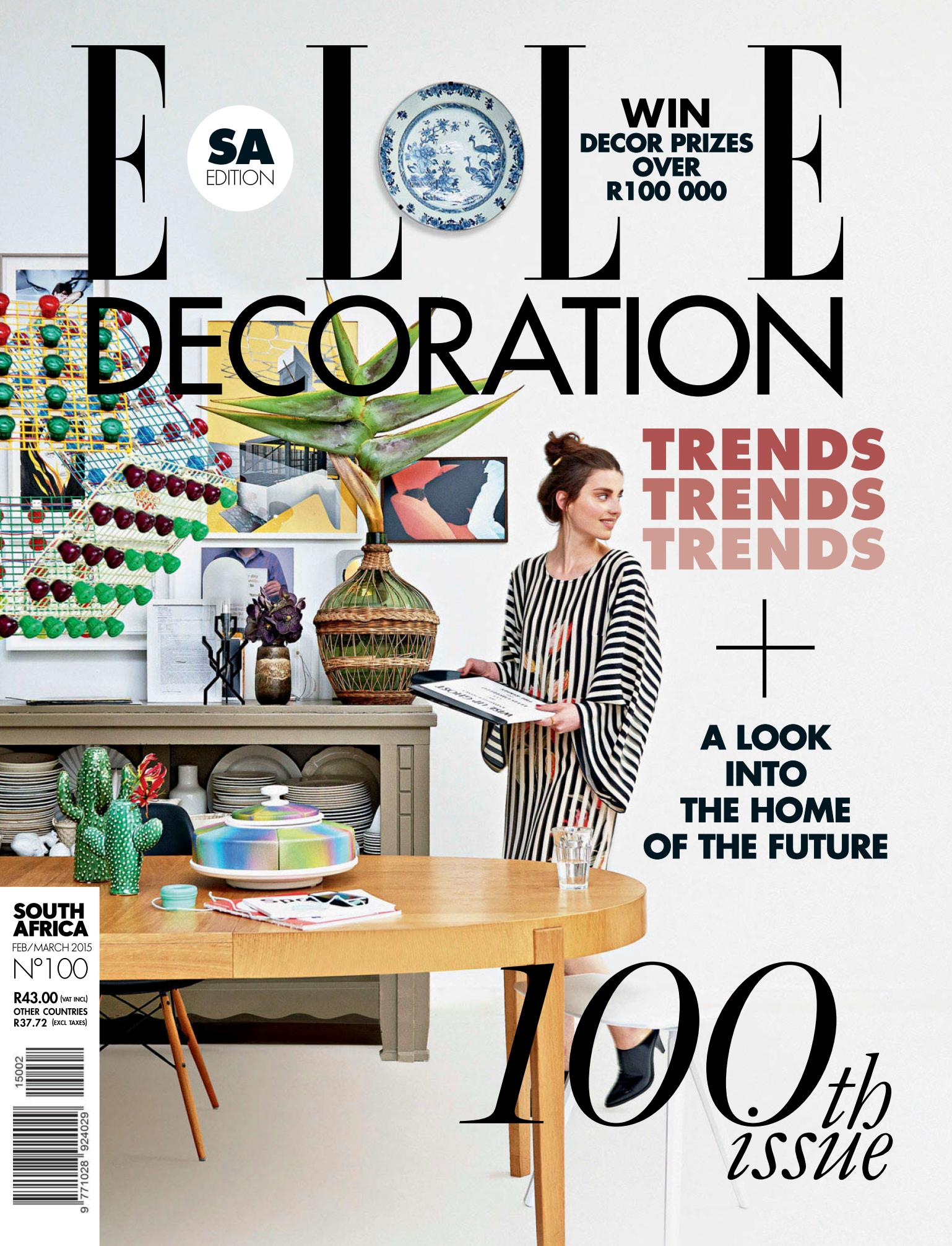 Elle Decoration South Africa - February-March 2015 free download