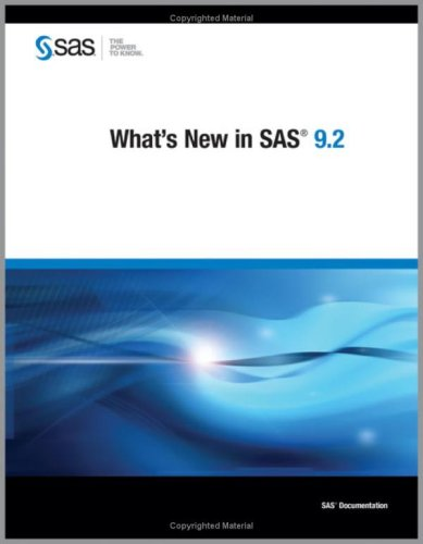 What's New in SAS 9.2 free download