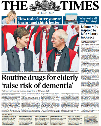 The London Times January 27 2015 free download