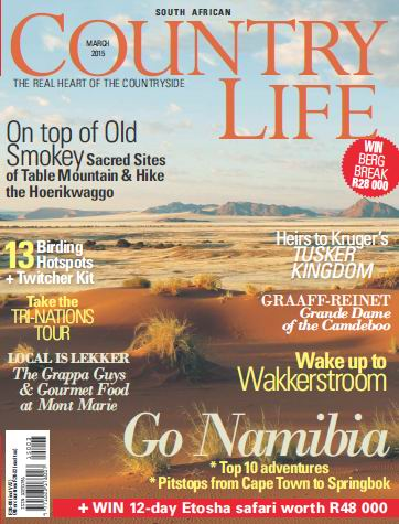 South African Country Life Magzine March 2015 free download