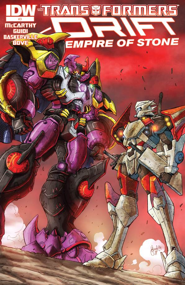 The Transformers - Drift - Empire of Stone 03 (2014) free download