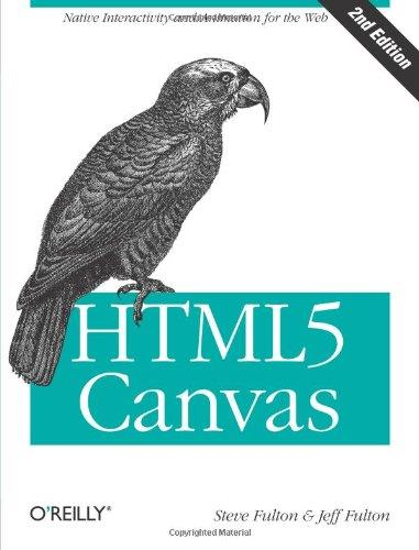 HTML5 Canvas (2nd edition) free download