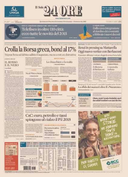 Il Sole 24 Ore - 29.01.2015 free download