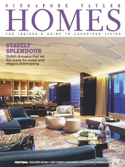 Singapore Tatler Homes Magazine February/March 2015 download dree