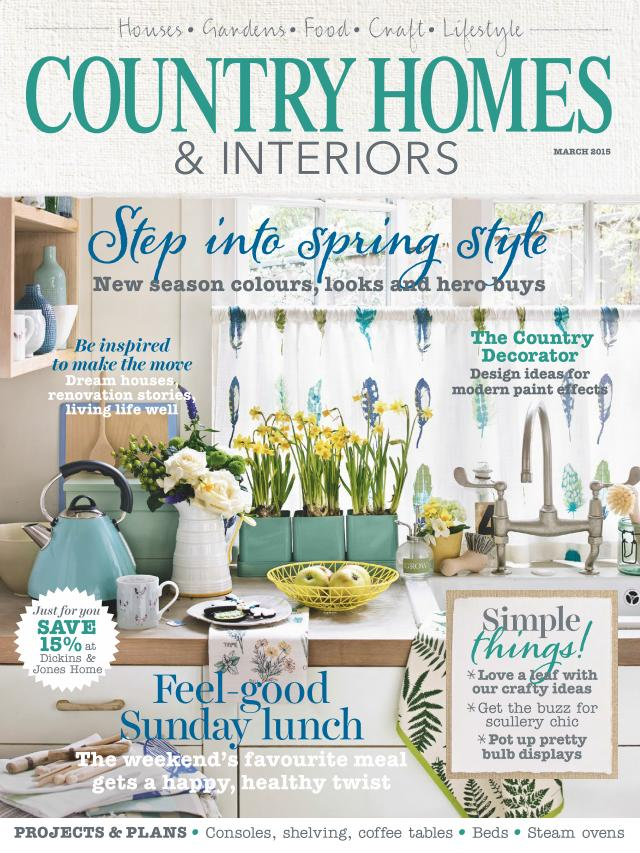Country Homes & Interiors - March 2015 free download