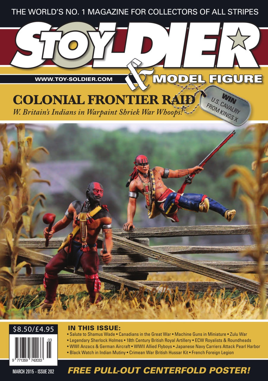 Toy Soldier & Model Figure - March 2015 free download