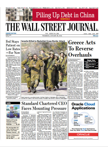 The Wall Street Journal (Europe) January 29 2015 free download