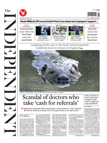 The Independent January 29 2015 free download