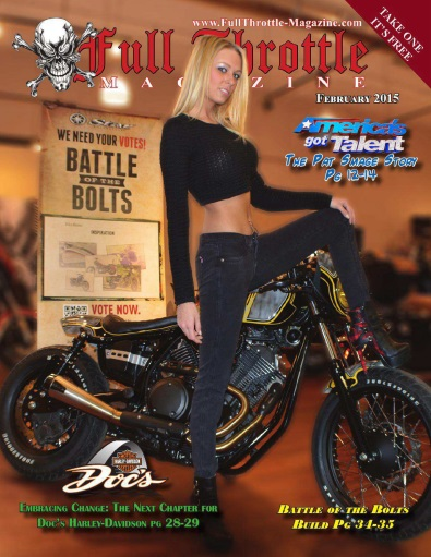 Full Throttle Magazine - February 2015 free download