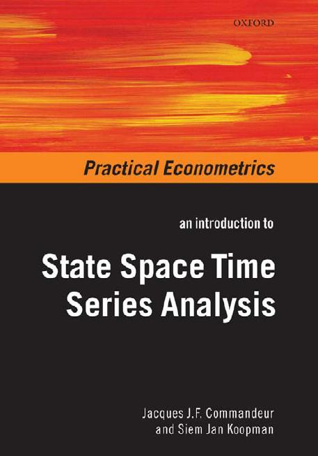 An Introduction to State Space Time Series Analysis free download