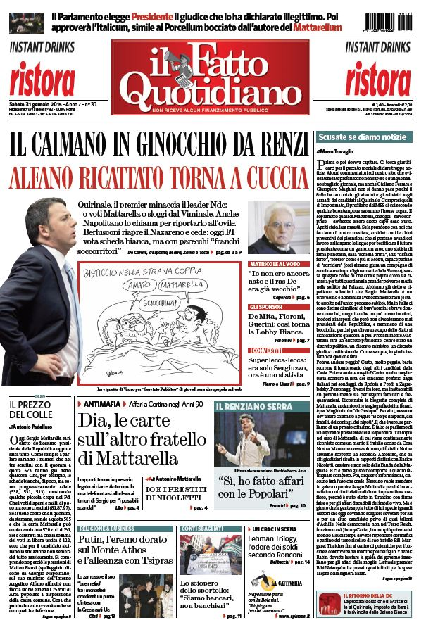 Il Fatto Quotidiano (31-01-15) free download