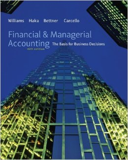 Financial & Managerial Accounting, 16 edition free download